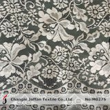 Jacquard White Tulle Lace Fabric (M0275)