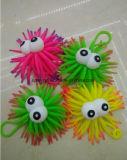 Kids Plastic Baby Toy Fuzzy Ball with Flash Sea Urchin