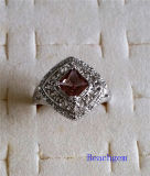 Jewellery-Synthetic Zultanite Sterling Silver Ring (R1584)