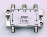 4way 5-2500MHz Smatv Splitter (SHJ-A204SA)