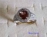Jewellery-Synthetic Zultanite Sterling Silver Ring (R1581)