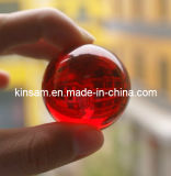40mm Red Glass Crystal Ball Color Crystal Ball (KS12021)
