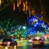 Warm White LED Snowfall Light/LED Meteor Light for Street Decoration