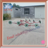 Farm Machinery 8 Tines Tractor Hanging Hay Rake