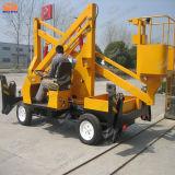 China Made Four Wheels Man Lift