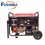 Portable 6kw Gasoline Generator with Handles and Wheels