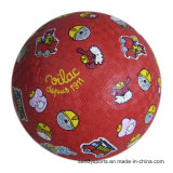 Bright Color Kids Like Rubber Playground Ball