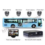 3G Mobile DVR for All Kinds of Vehicle Wtih GPS Tracker for School Bus Mobile DVR
