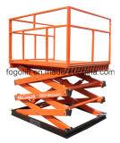 China Made Heavy Duty Hydraulic Warehouse Vertical Material Lift