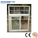 Hot Sale Tempered Glass PVC Sliding Window White Color
