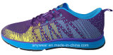 China Women Flyknit Running Sport Shoes Gym Sports Footwear (815-3621)