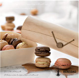 Hongdao Wholesale Price High Quality Round Wooden Macaron Packaging Gift Box for Sale _E