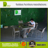 Garden Rattan Furniture Bar Set with Cushion for Outdoor