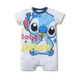 OEM Design Cute Print Cotton Newborn Baby Romper Suits