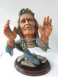 Polyresin Native Americans Statue/ Resin Sculpture/Resin Figurine