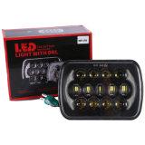 Lantsun LED6485 5′′x7′′ 6X7 Inch Rectangle High Low Beam LED Headlights for Jeep Wrangler Yj Cherokee Xj H6054 H5054