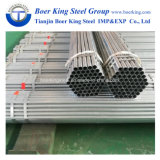 Greenhouse Used Pre Galvanized Round Hollow Section Steel Pipes Factory