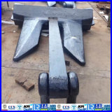 6225kgs Hhp AC 14 Ship Anchor for Marine Use with ABS Lr CCS Approval