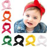 Baby Hairband Girl Elastic Hair Accessories Headbands, Solid Bunny Ears
