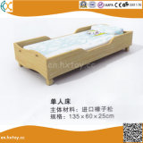 Kindergarten Children Wooden Double Beds