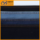 Cotton Polyester Spandex Denim Fabric For Jeans And Overcoat