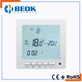 Big LCD Room Thermostat with Blue and White Backlight and Remote Control Function
