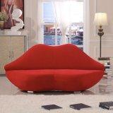 Red Lip Shaped Fancy Bocca Sofa