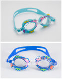 Kids Goggles with Cute Cartoon - Soft, Comfortable, Anti-Fog UV Protection