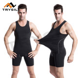 2017 High-Elastic Fitness Suits Vest/Shorts Sets