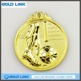 Football Metal Medal Custom Medal Engraving Challenge Coin Sports Badge