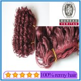 African American Human Hair Extensions Popular Curly Weft