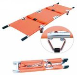 Aluminum Alloy Tranfer Wound Person 2 Folding Stretcher with Bag