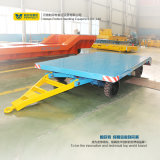 Heavy Steel Products Using Baggage Transfer Trailer