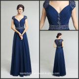 Blue Chiffon Mother Bride Dress Bridesmaids Party Evening Dress B18