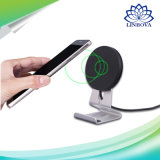 Qi Certified Stand Wireless Fast Ultra Slim Charger with Two Coils