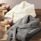 Promotional Hotel / Home Flannel Bathrobe / Pajama / Nightwear