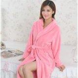 Promotional Hotel/Home Cotton Velvet Bathrobe/Pajama/Nightwear