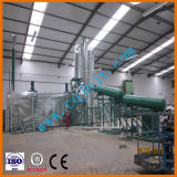JNC waste oil catalytic distillation recycling to diesel