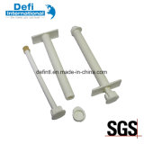 Engineering Plastic Wear Resistant White Hollow Rods with Cap