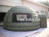 Camouflage Inflatable Igloo Tent Military Dome
