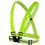 USB Charging Strap Safety Suits LED Reflective Vests for Jogging Running