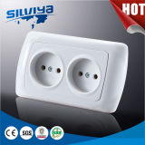Non-Grounding 2 Gang Wall Socket