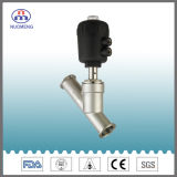 Sanitary Stainless Steel Pneumatic Welded Angle Seat Valve (SMS-No. RJZ0103)