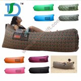 Customized Printing Inflatable Air Couch Sofa with Pocket