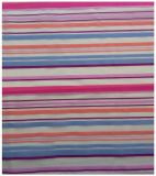 Organza Polyester Fabric, Colorful Stripes for Garment