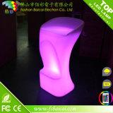 Hot Sale Outdoor LED Furniture, White Sofa Lighted LED Furniture