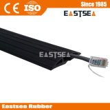 Black Color Small Type Rubber Wiring Duct