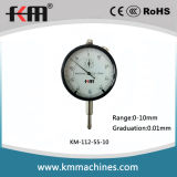 0-10mm Dial Indicator with 0.01mm Graduation
