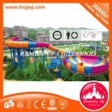 Large Outdoor Water Slide Water Park Equipment for Swimming Pool