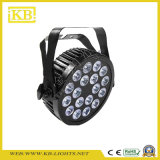 18PCS*15W RGBWA Waterproof PAR Light for Outdoor